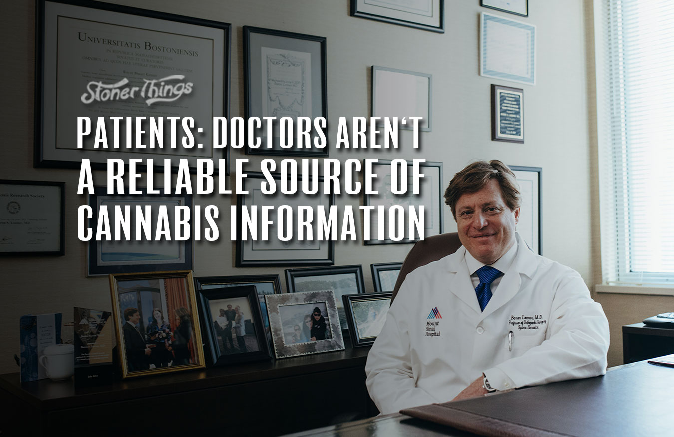 doctors not reliable source cannabis information