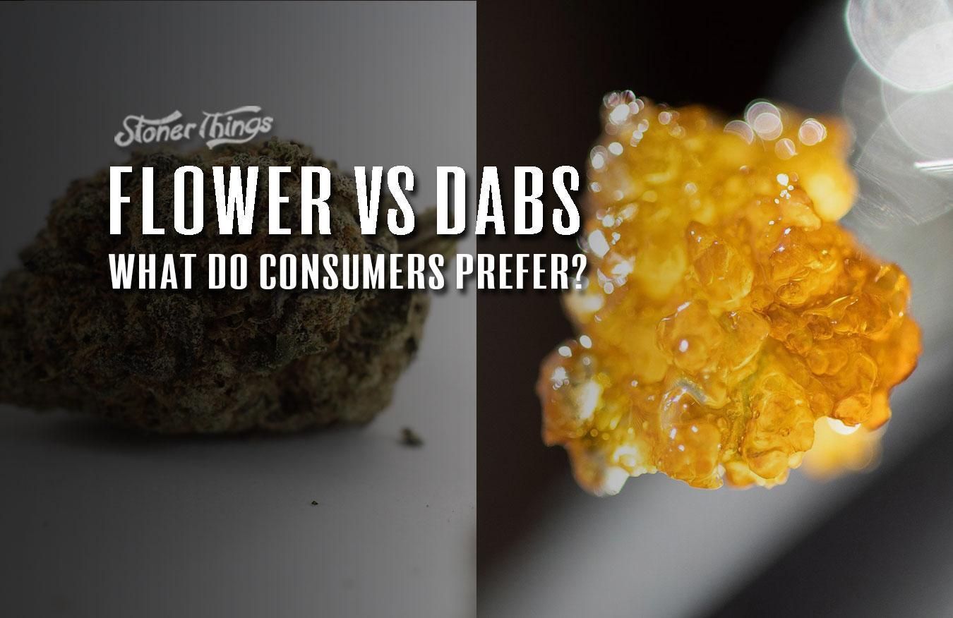 Flower vs Dabs