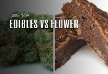 cannabis edibles vs flower