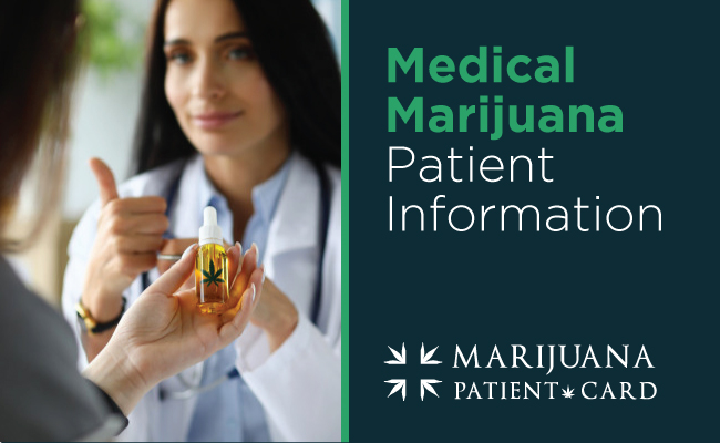 Medical Marijuana Patient Information