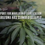 Suport for marijuana legalization arizona increasing
