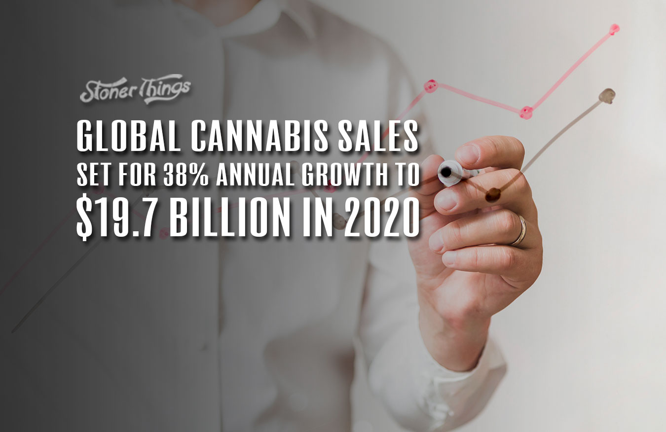 global cannabis sales growth 2020