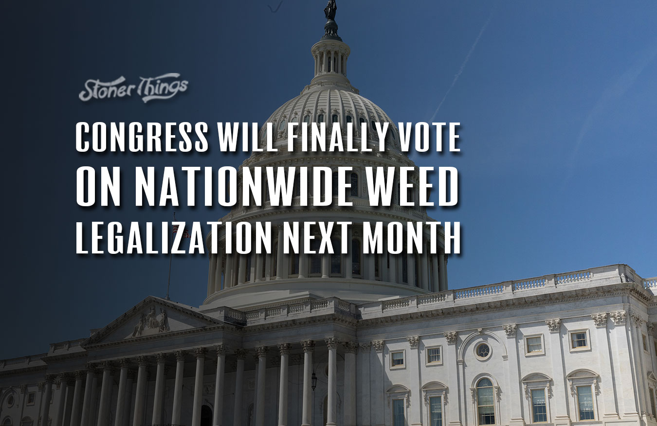 Congress nationwide weed legalization