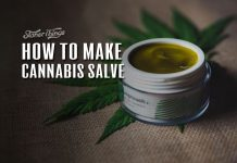 How to make cannabis salve