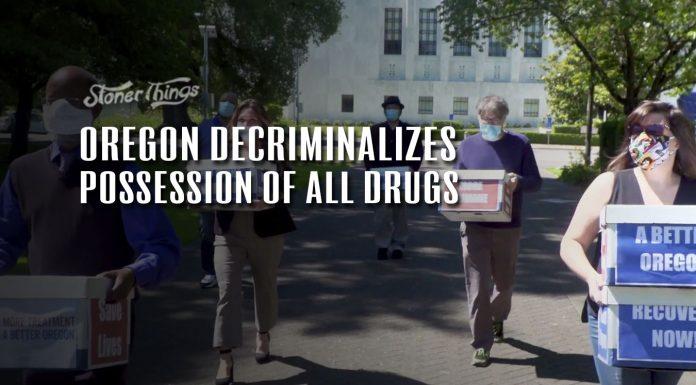 Oregon Decriminalizes Possession All Drugs