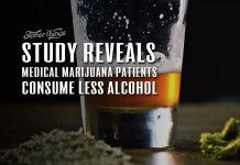 medical marijuana patients consume less alcohol study