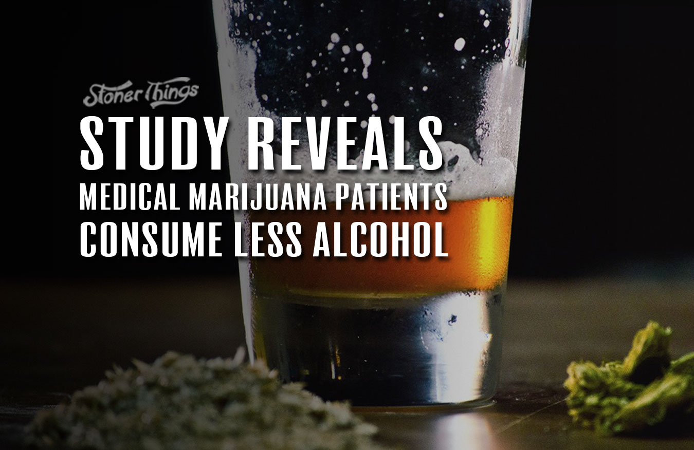 medical marijuana patients consume less alcohol study