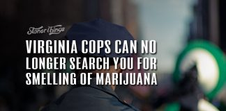 virginia cops cant search you for marijuana