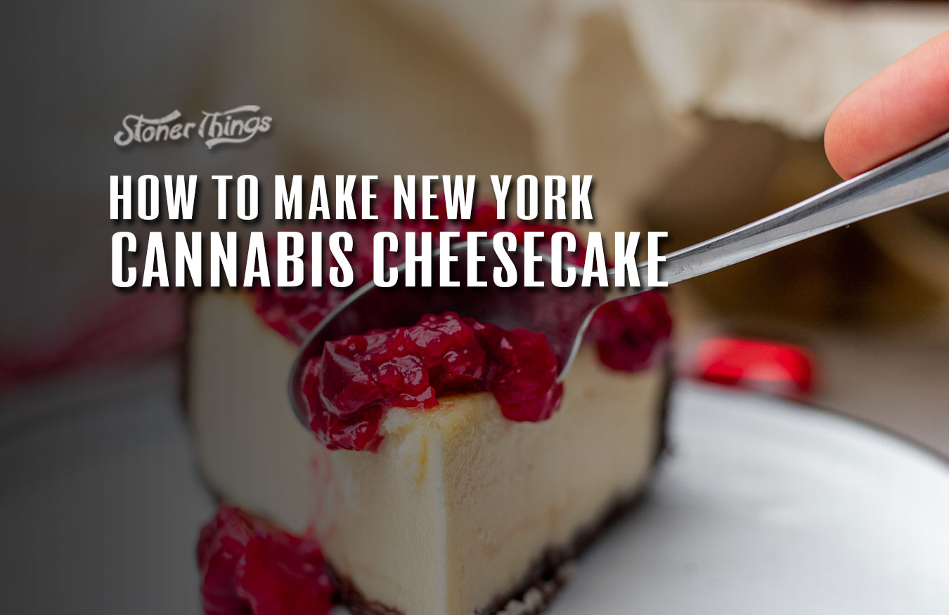 New York Cannabis Cheesecake Recipe