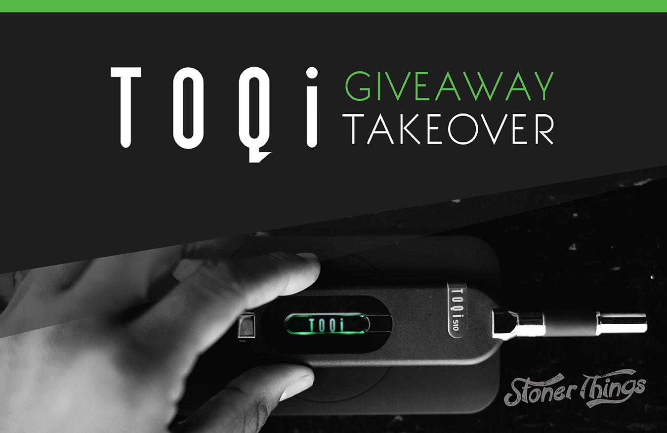TOQi vaporizer giveaway