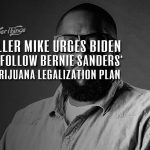 killer mike joe biden bernie sanders legalization plan