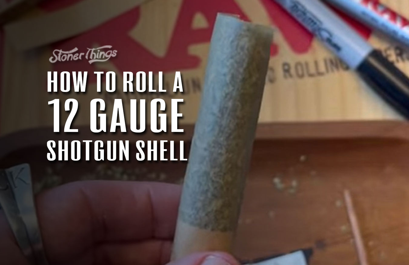How to roll a shotgun shell joint