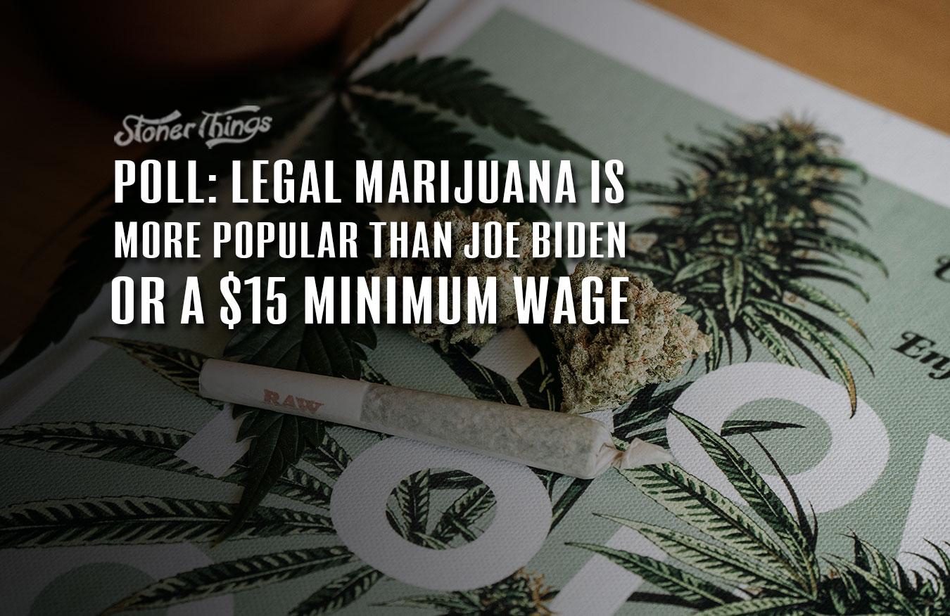poll legal marijuana popularity