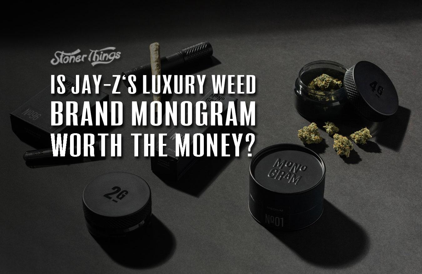 Jay Z monogram weed