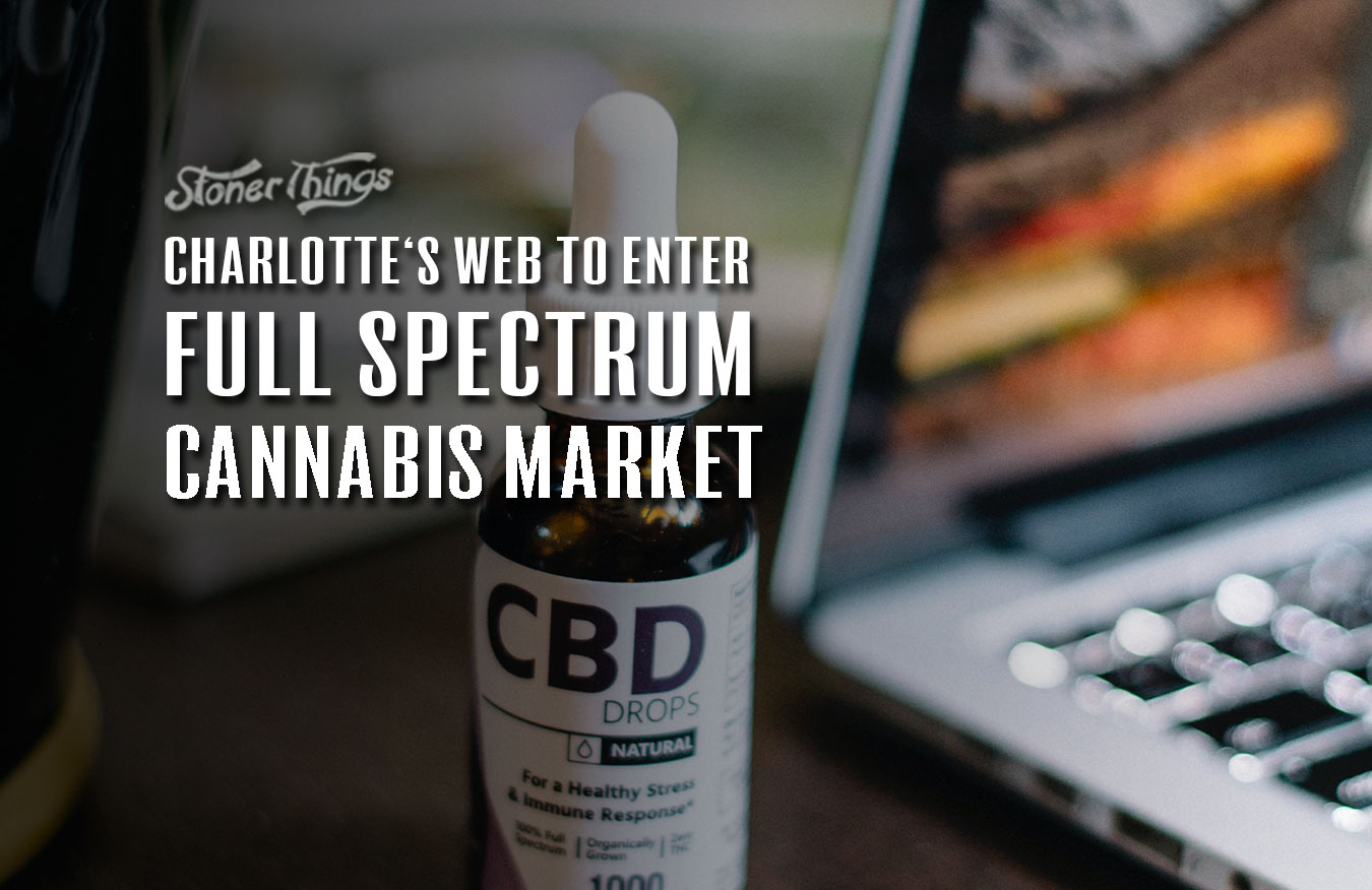 charlottes web full spectrum cannabis market