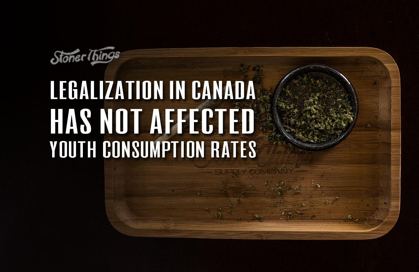 legalization canada youth consumption rates