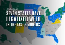 states legalized weed