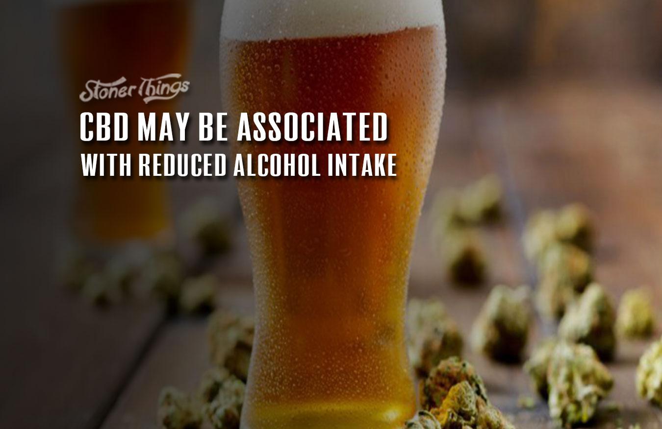 cbd reduces alcohol consumption