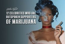 celebrities who love marijuana