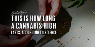 how long does a cannabis high last
