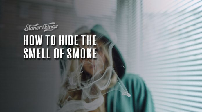 how to hide the smell of smoke