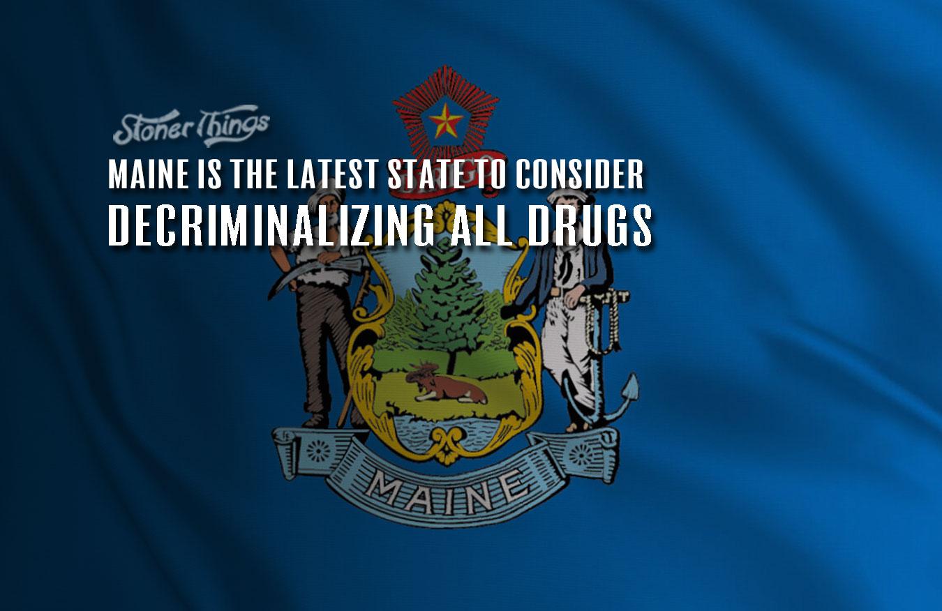Maine decriminalize all drugs