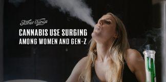 cannabis use surging women gen z