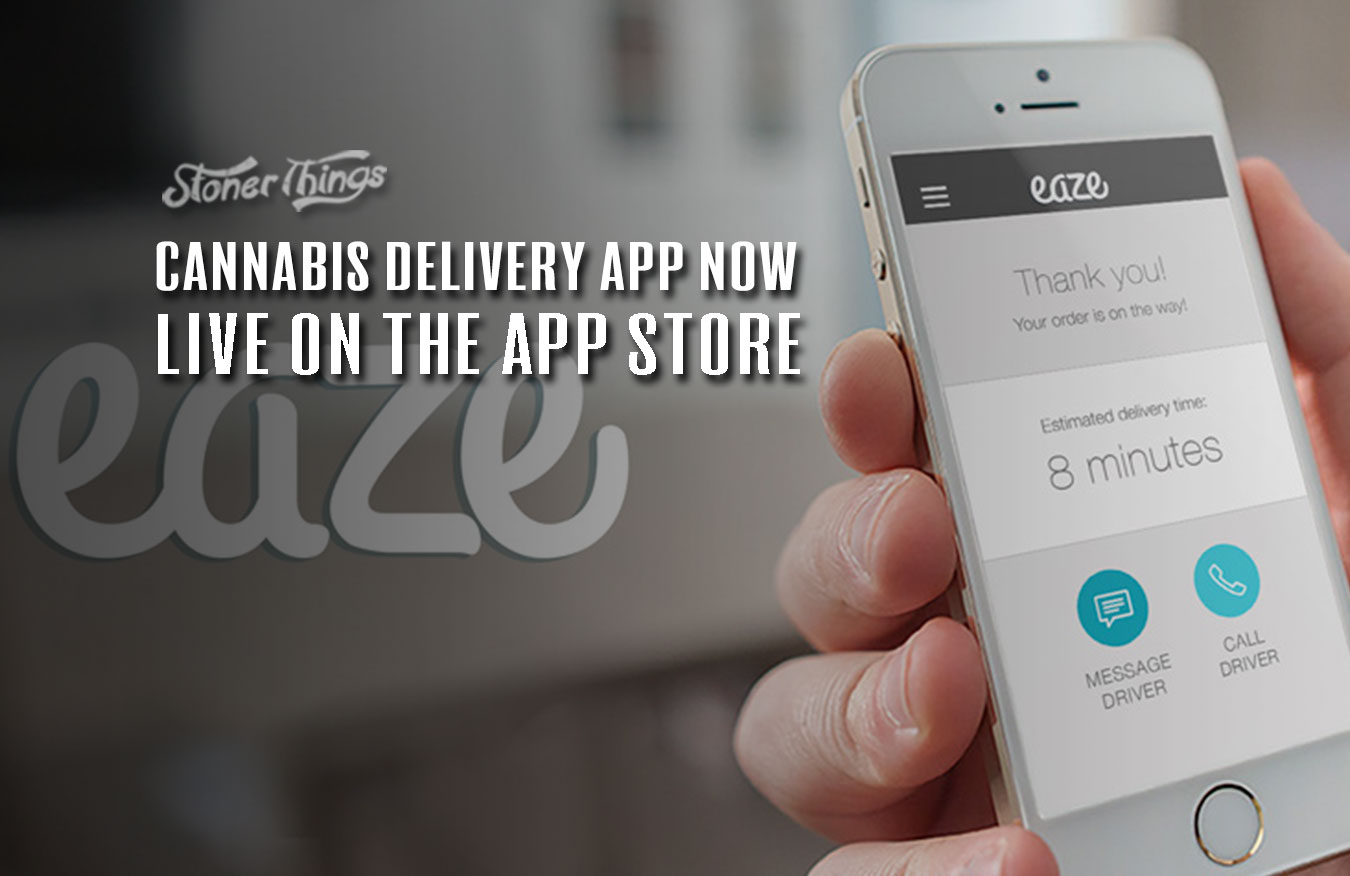 eaze cannabis delivery app live app store