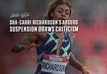 shacarri richardson suspension criticism