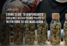 Living Close to Marijuana Dispensaries Does Not Affect Young People's Intentions to Use Marijuana