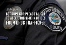 corrupt cop guilty bribe