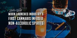 mxxn cannabis infused spirits